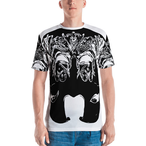 Triple Faced Men's T-Shirt
