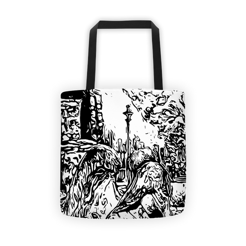 Angel On Earth Tote Bag - Eccentric Couture XV ™