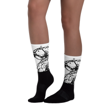 Imitate Black Foot Socks - Eccentric Couture XV ™
