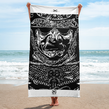 Aztec Warrior Beach Towel - Eccentric Couture XV ™