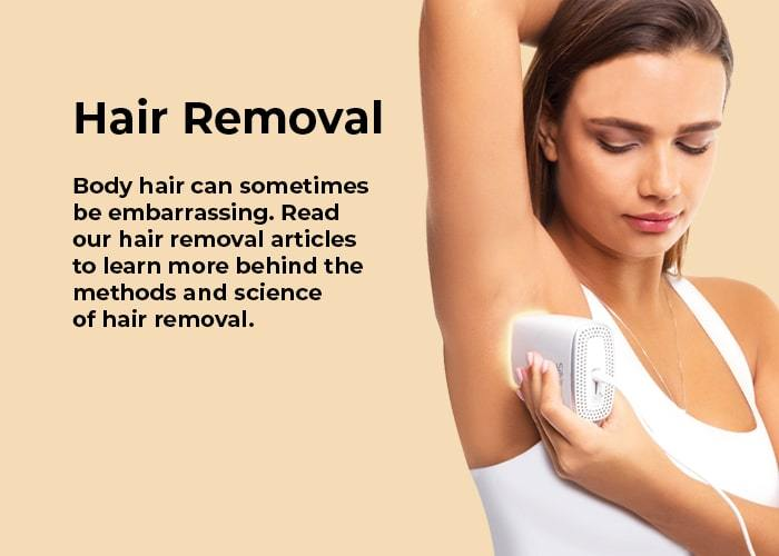 At home permanent hair removal with Silk'n