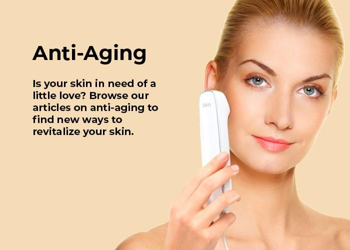 at home skincare and anti aging treatments with Silk'n
