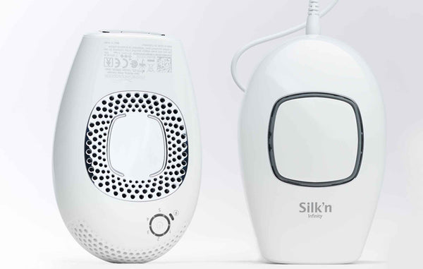 silk'n infinity at home hair removal device