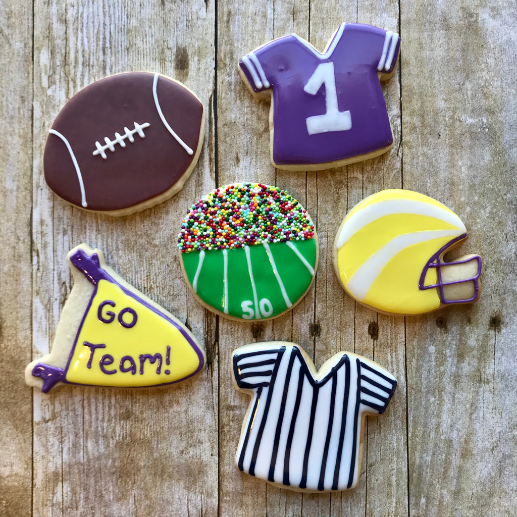 Football Cookie Decorating Class