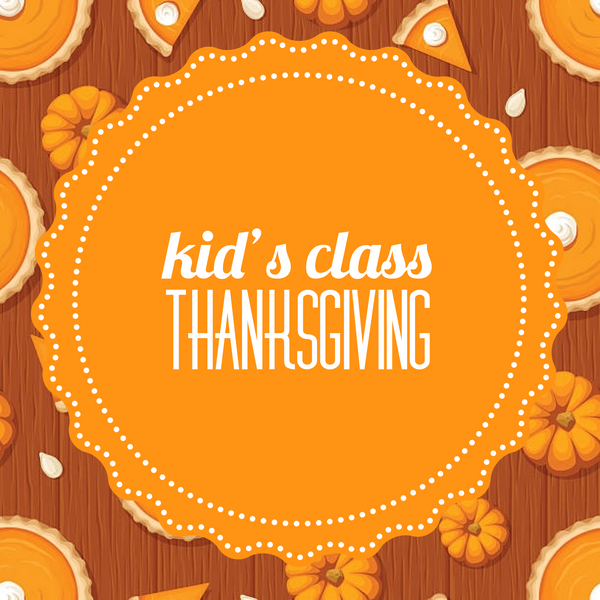 Kid's Cookie Class - Thanksgiving