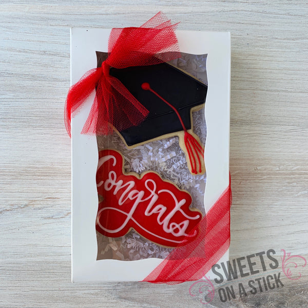 Graduation Two Cookie Box