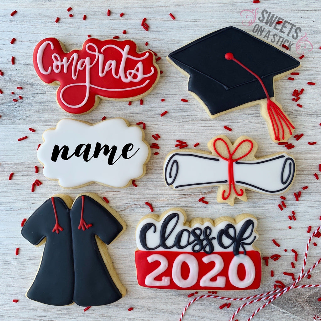 Graduation Six Cookie Box