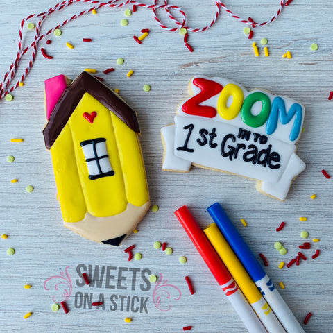 Zoom Back to School Two Cookie Set