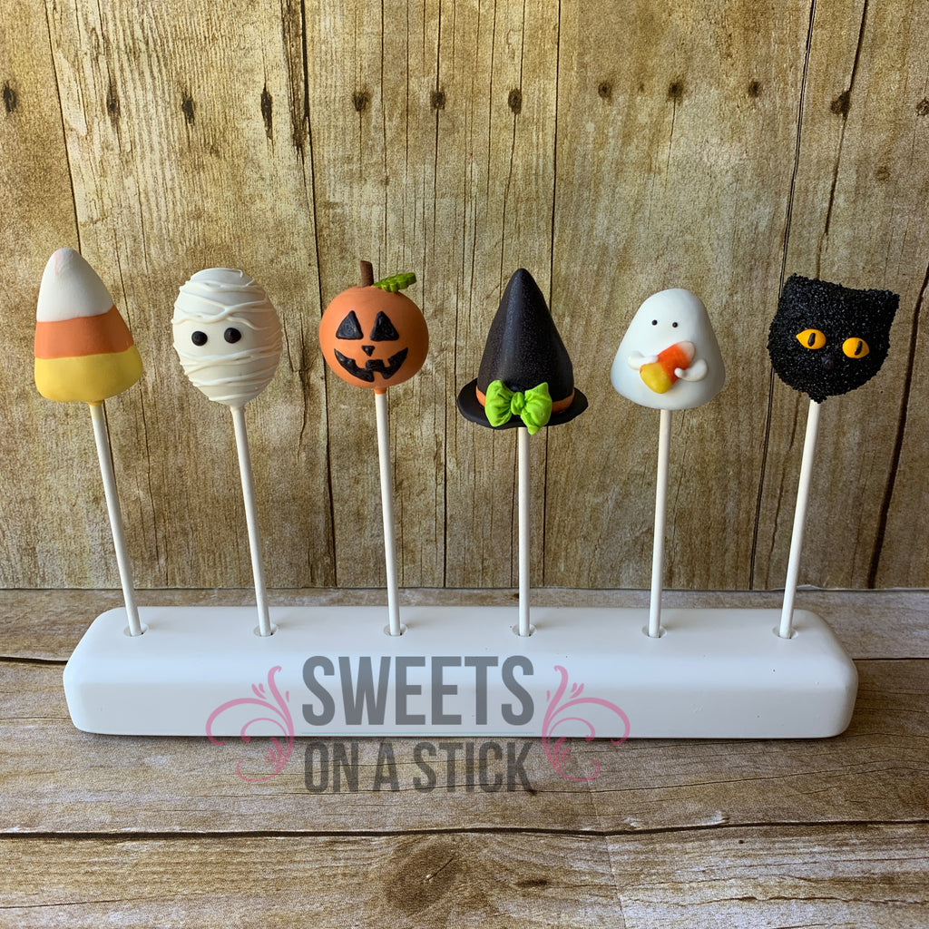 Halloween Shaped Cake Pops