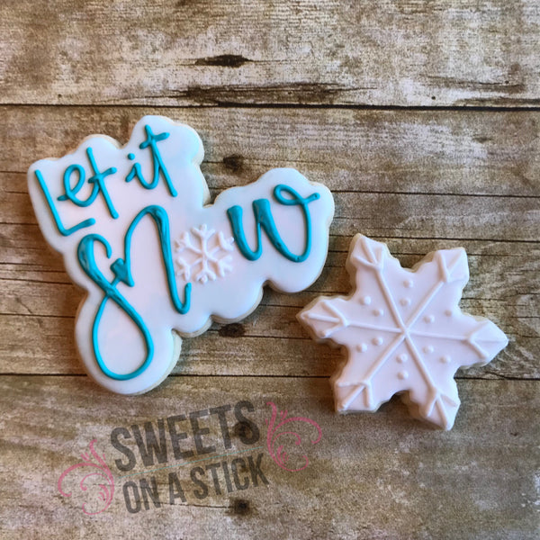 Let it Snow Cookie Set