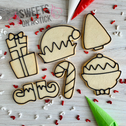 Elf Cookie Decorating Kit