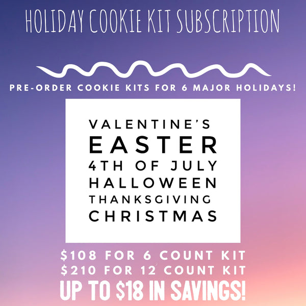 Holiday Cookie Kit Subscription