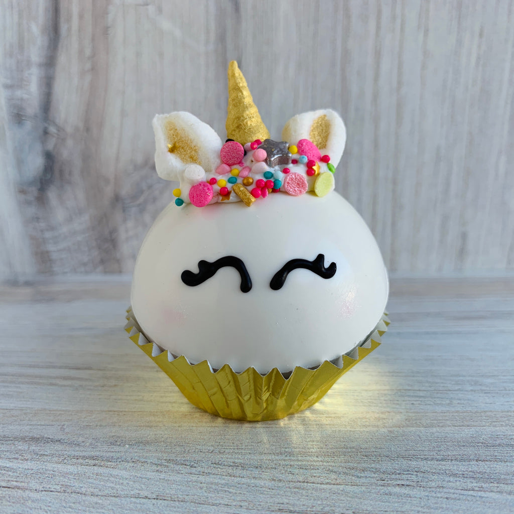Unicorn Hot Cocoa Bomb