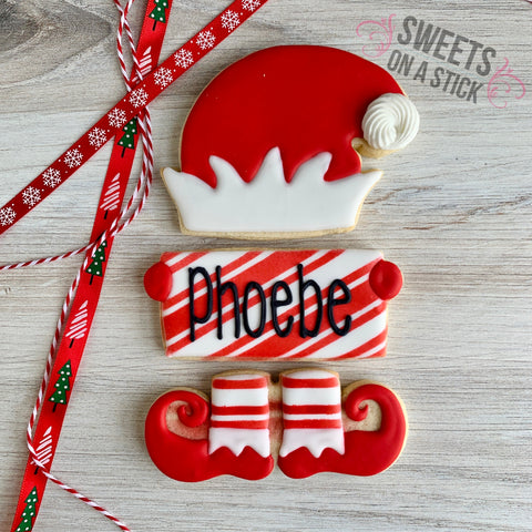 Elf Three Cookie Set