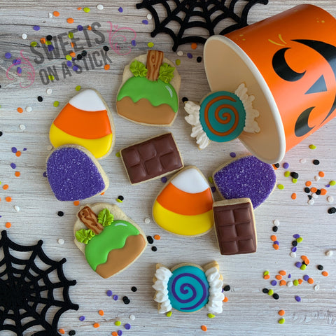 Halloween Candy Mini Cookie Bucket