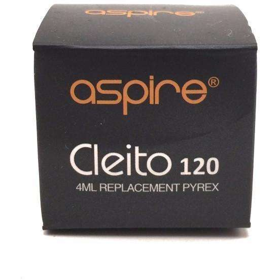 Aspire Cleito 120 4ml Replacement Glass - Vapetrunk Company Inc.
