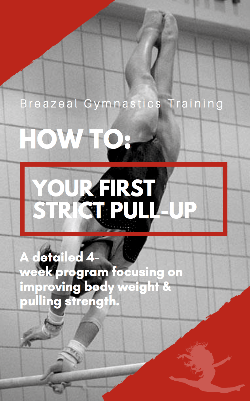 4-Week Guide To Your First Strict Pull-Up
