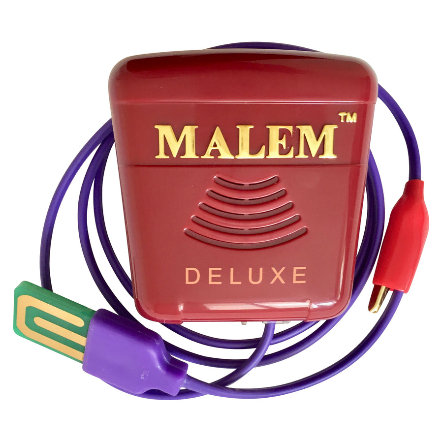 Malem Recordable + 8 alarm sounds DELUXE + Bedwetting Cured DVD
