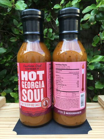 Hot Georgia Soul - Sweet & Fiery BBQ Sauce