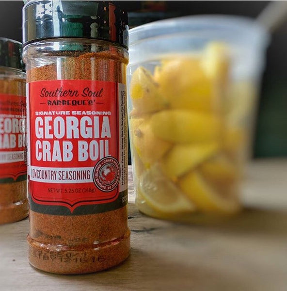Georgia Crab Boil Low Country Seasoning Southern Soul Barbeque