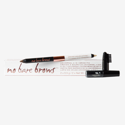 No Bare Brows Universal 4 in 1 Brow Fix
