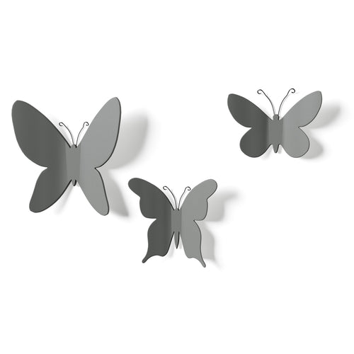 Decoración de Pared MARIPOSA - Gris