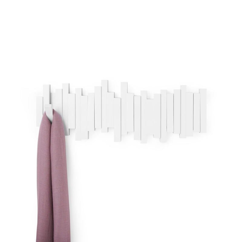 Colgador de Pared STICKS - Blanco
