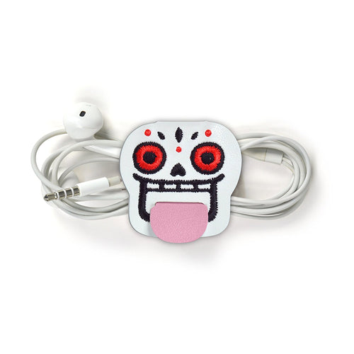 Organizador de Cables TONGUE TIES - Calavera