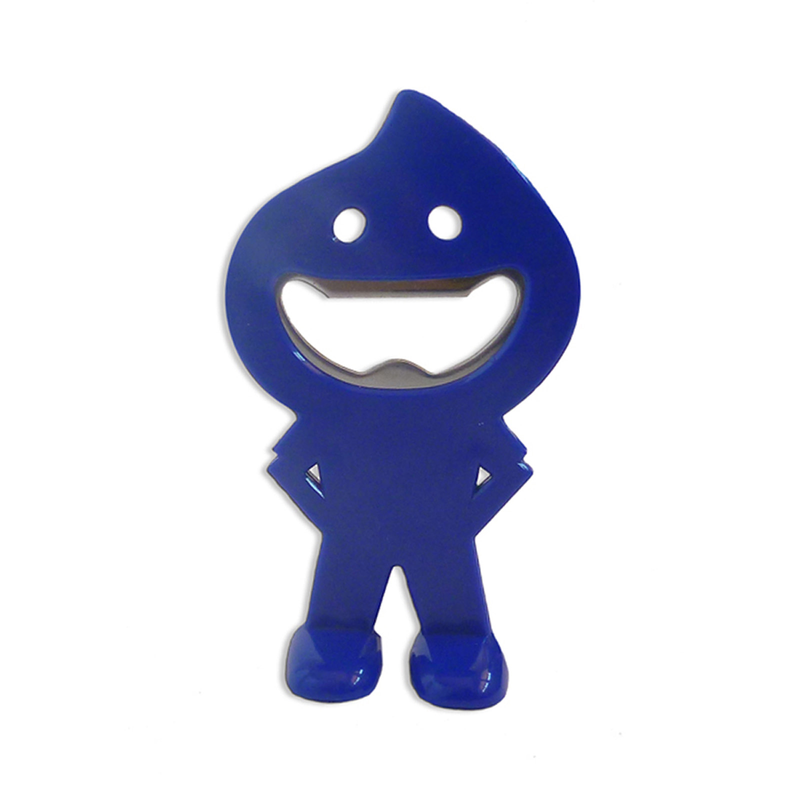 blue dude bottle opener