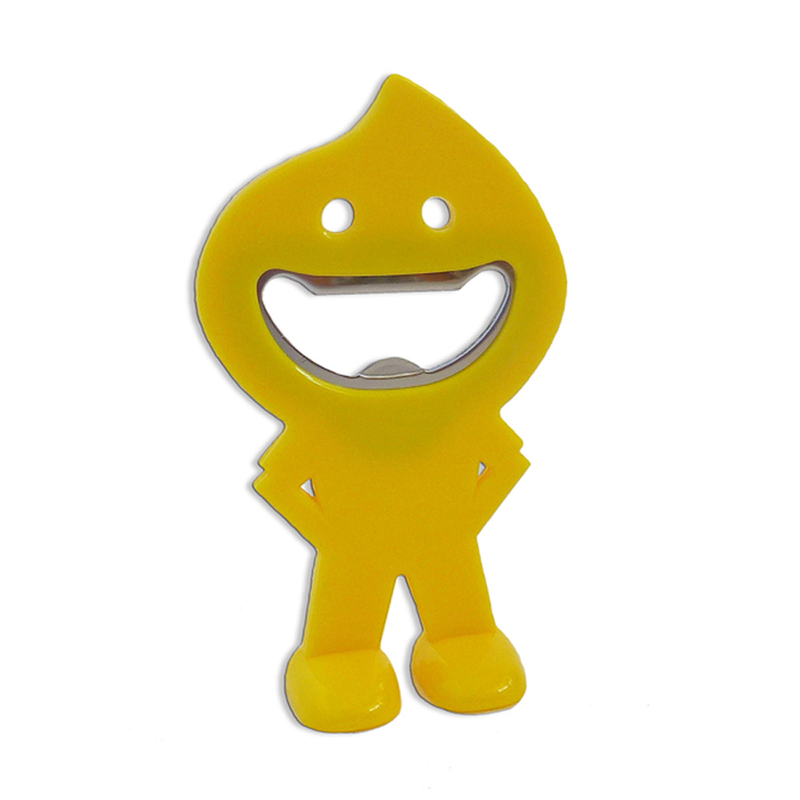 yellow bottle opener