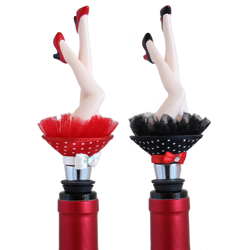 legs bottle stoppers