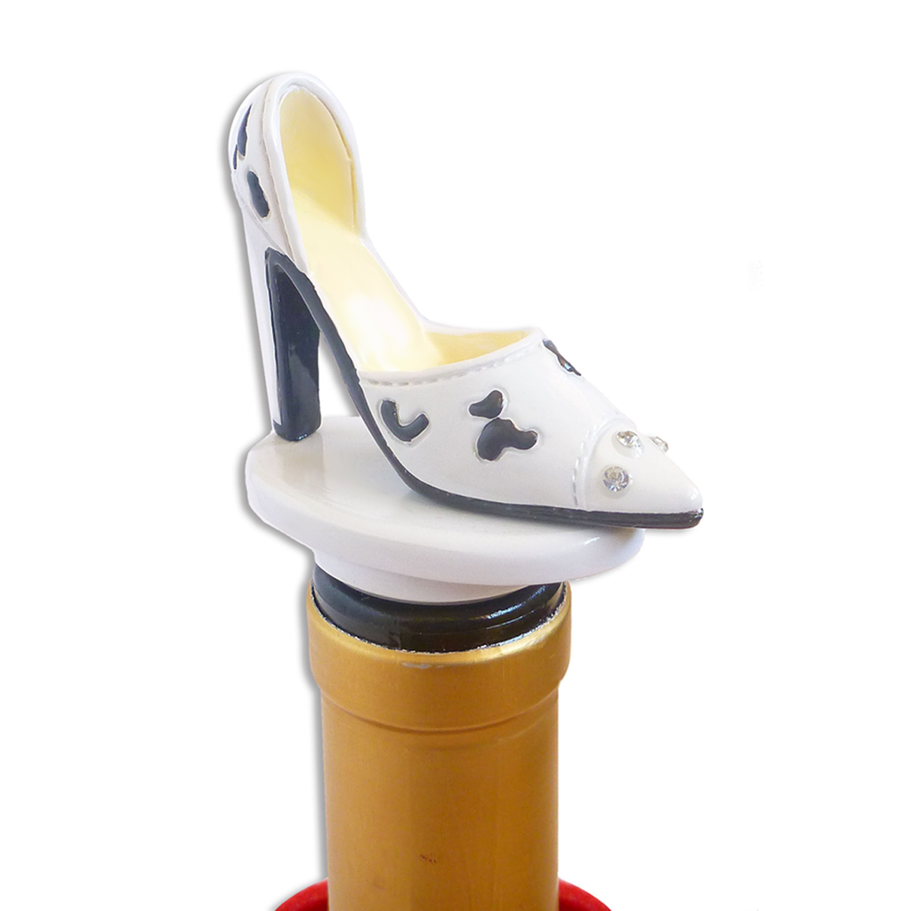high heel bottle stoppers