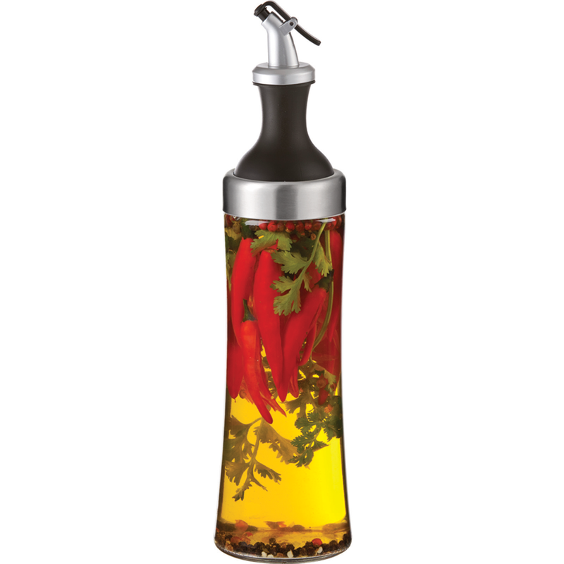 olive oil herb infuser  dispenser