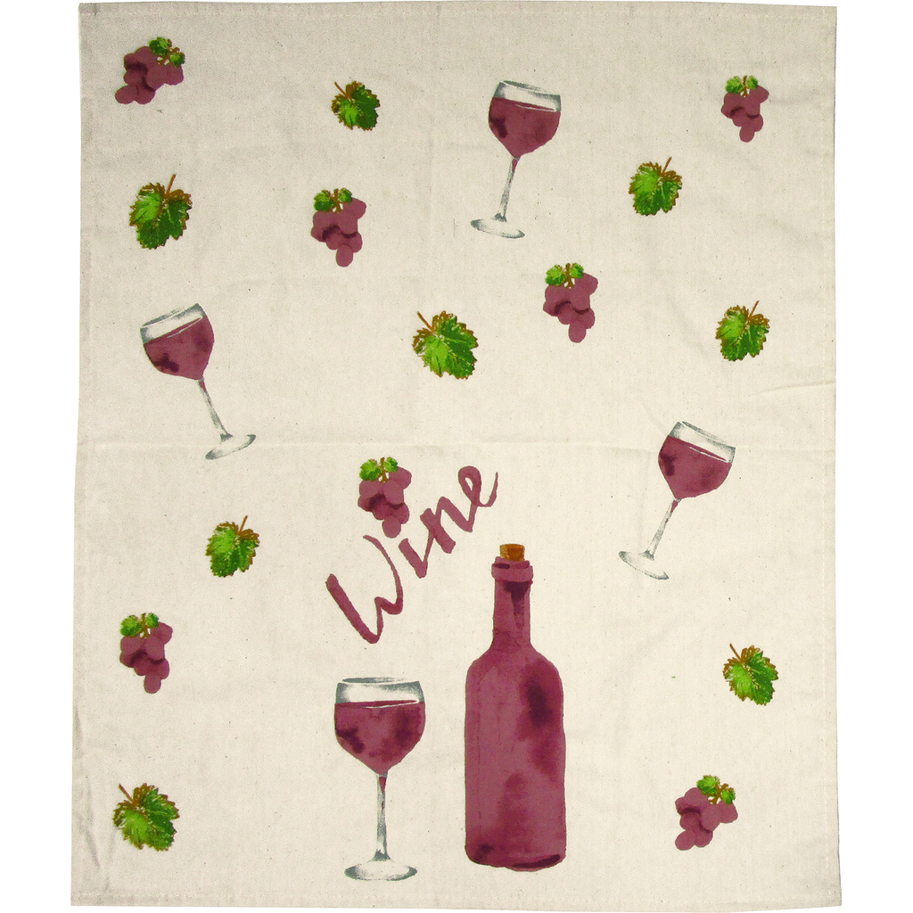 uva cotton dish towel