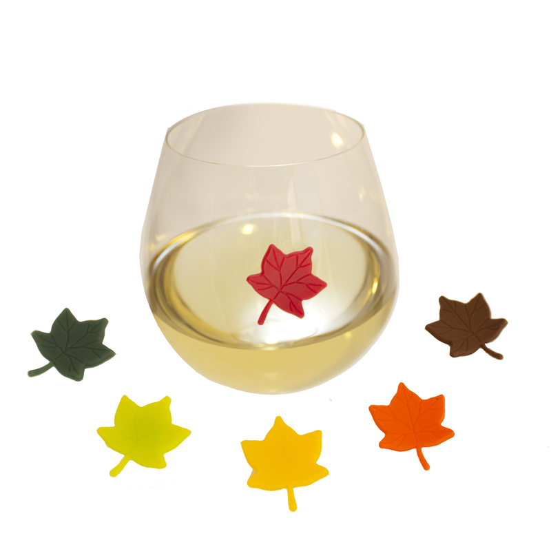 suction leaves wine markers
