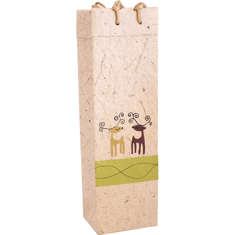 holiday wine bag
