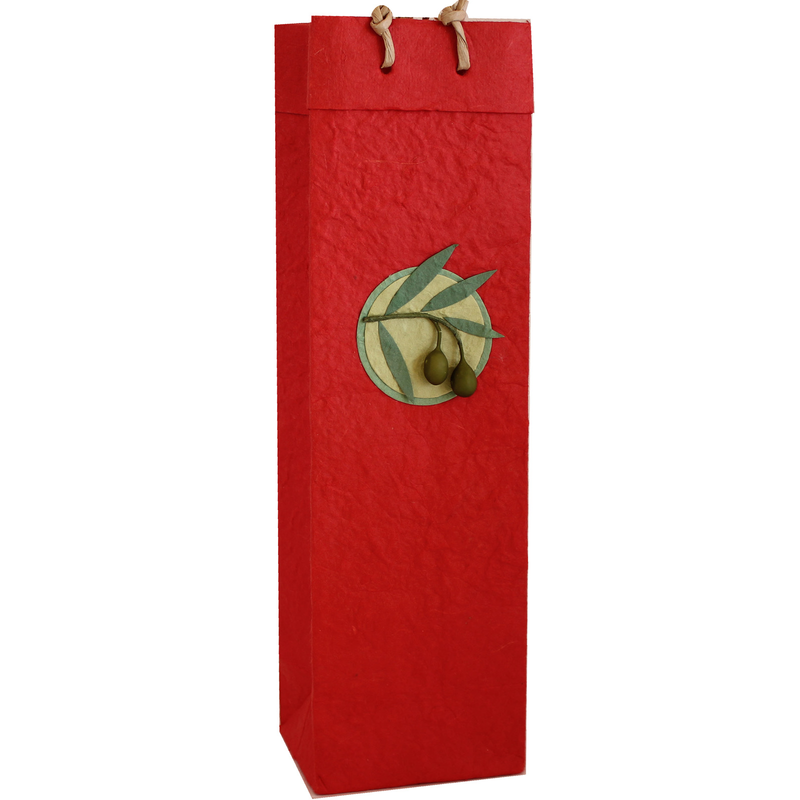 red wine bottle bag