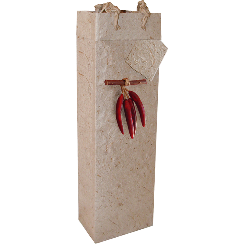 3d chili pepper wine bottle bag