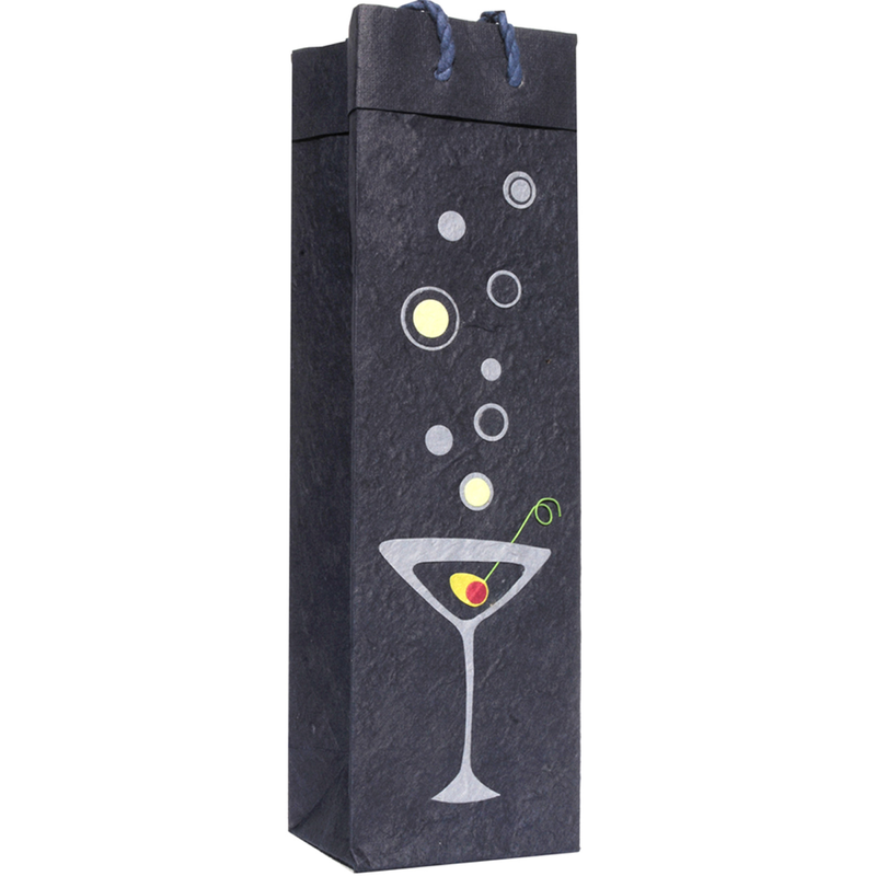 martini wine bag