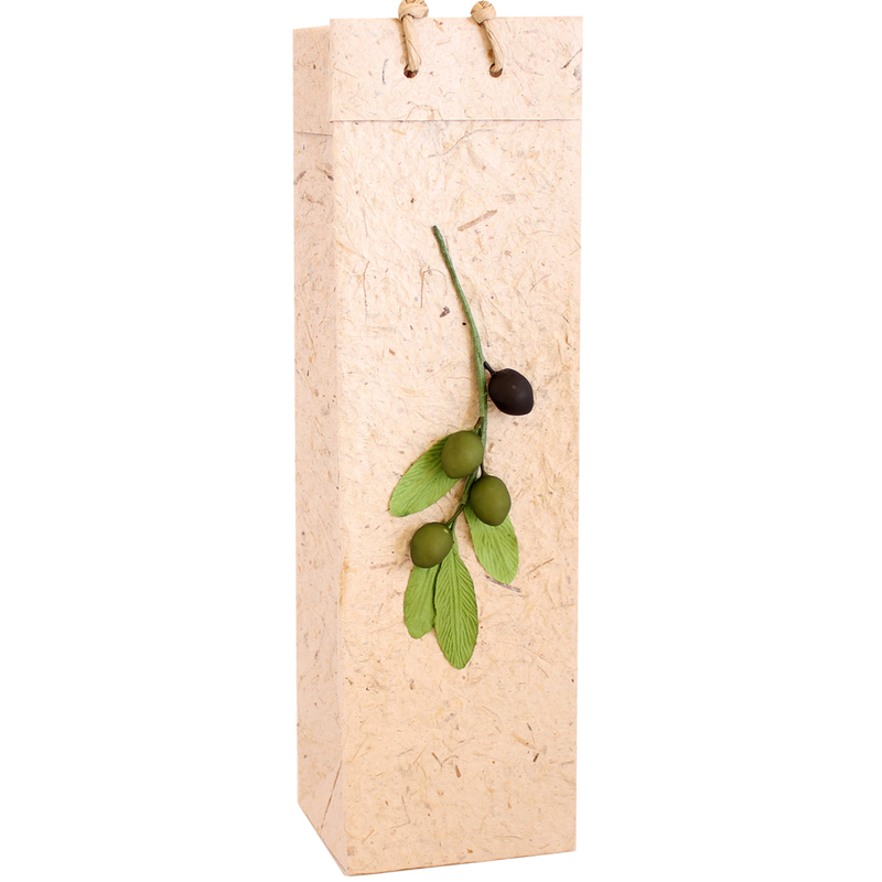 olive branch wine bag