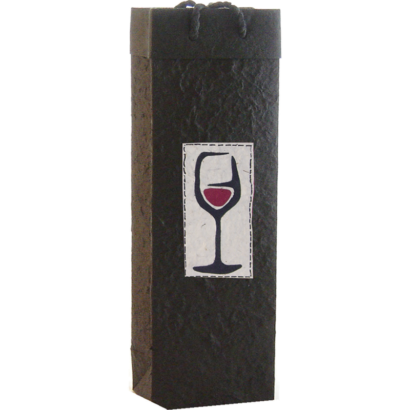 black wine bag