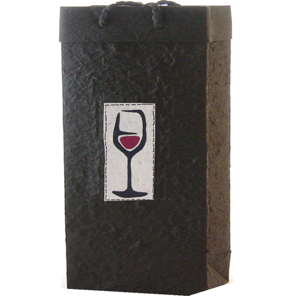 double bottle wine bag
