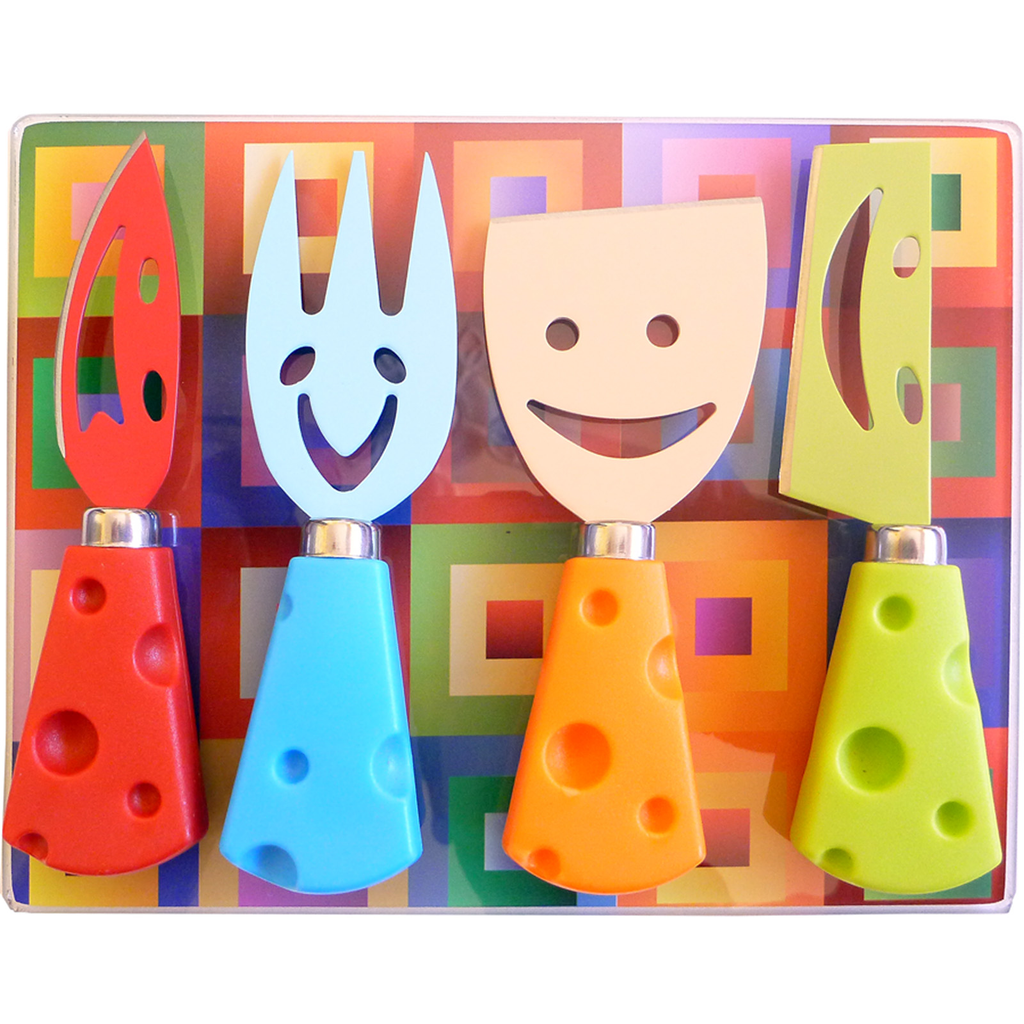 cheese happy faces gift boxed serving