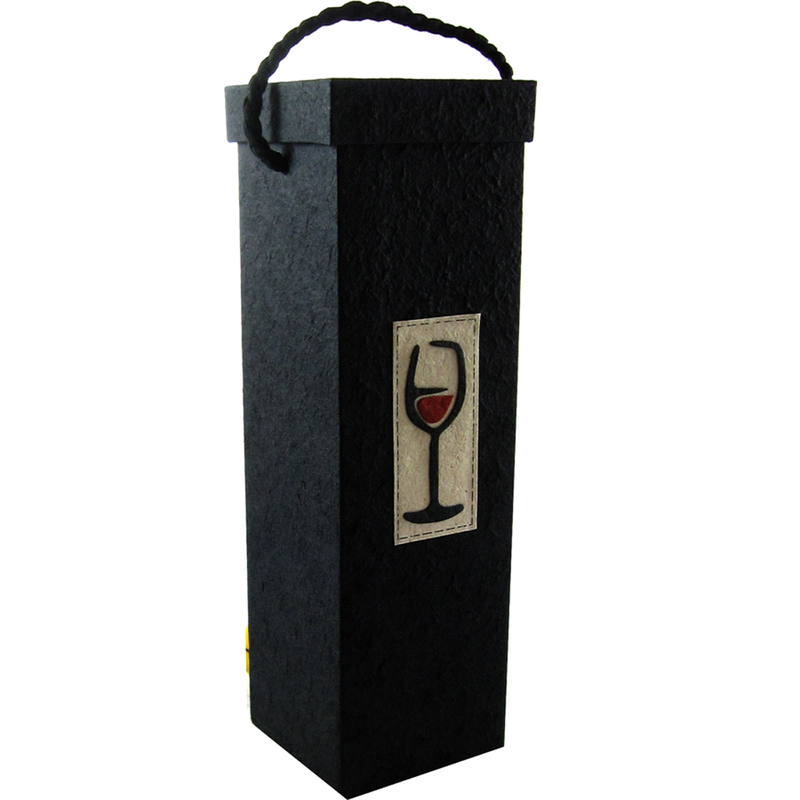 red wine bottle box