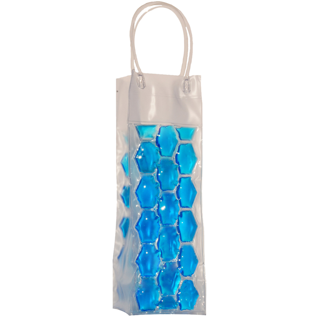 chill it 1 freezable blue drink bottle bag