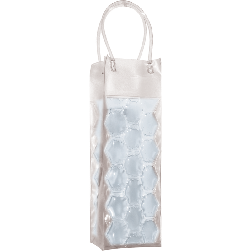 chill it 1 freezable clear drink bottle bag