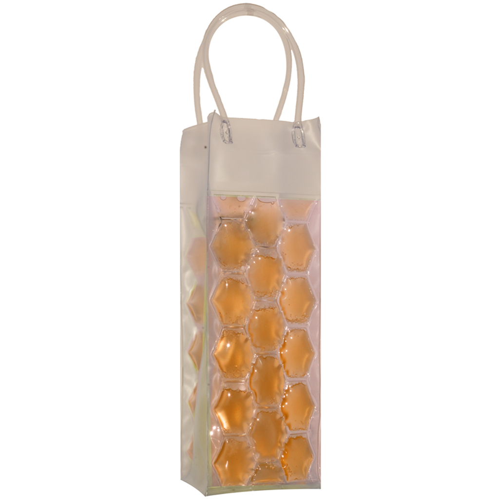 chill it 1 freezable gold drink bottle bag