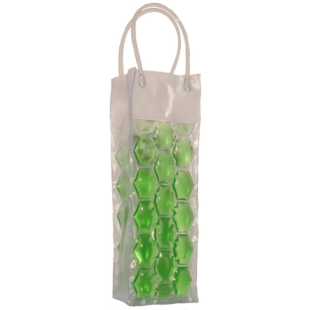 chill it 1 freezable green drink bottle bag