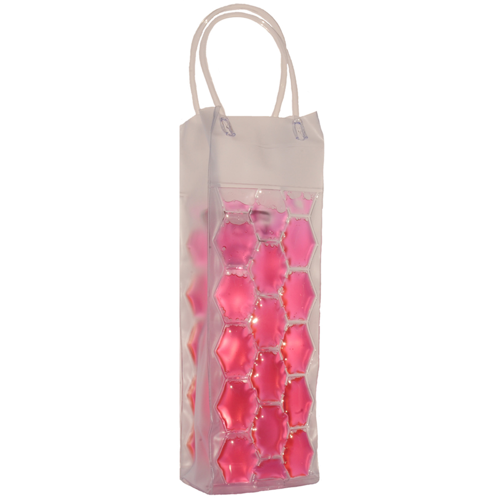 chill it 1 freezable pink drink bottle bag