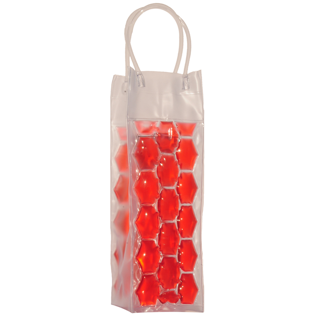 chill it 1 freezable red drink bottle bag